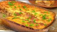 Картофельная Запеканка с мясом - пошаговый рецепт