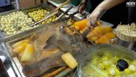 Уличная еда в Гонконге - Видео