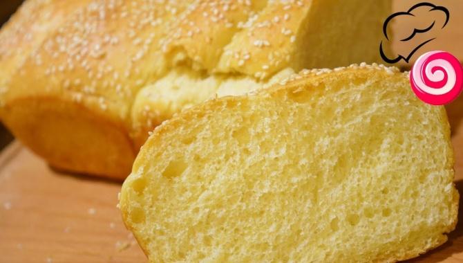 Мягкий Нежный Молочный хлеб - Видео-рецепт