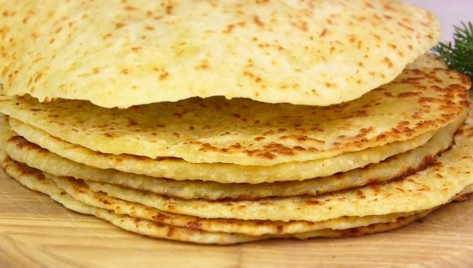 Сырные лепешки за 15 минут - Видео-рецепт