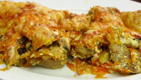 Мясо под морковной шубой - Видео-рецепт