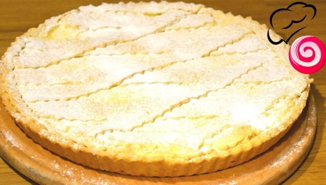 Пирог с лимонным кремом  - Видео-рецепт