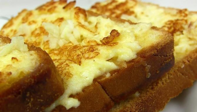 Гренки с сыром и яйцом - Видео-рецепт