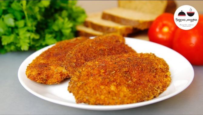 Рыба в ярком остреньком кляре - Видео-рецепт