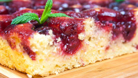 Вкуснейший пирог с вишней - Видео-рецепт