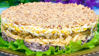 Салат с говядиной Принц - Видео-рецепт