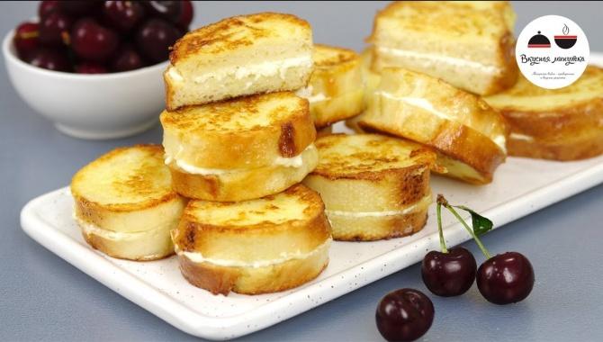 Сладкие гренки из Батона - Видео-рецепт