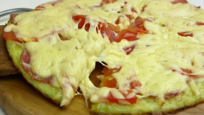 Пицца на сковороде - Видео-рецепт