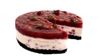 Творожно-клубничный торт - Видео-рецепт