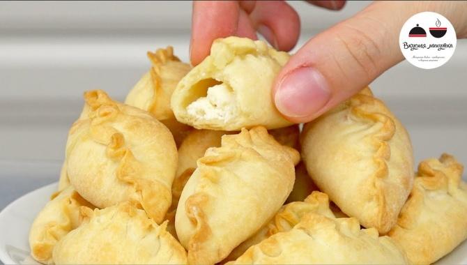 Пирожки с творожной начинкой - Видео-рецепт