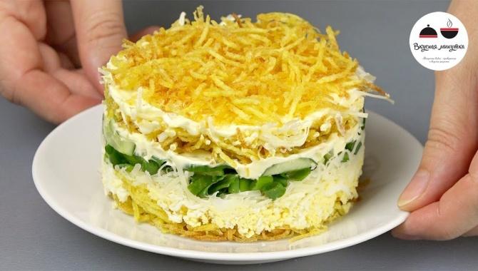 Салат с картофелем пай - Видео-рецепт
