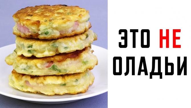 Быстрый перекус с колбасой - Видео-рецепт