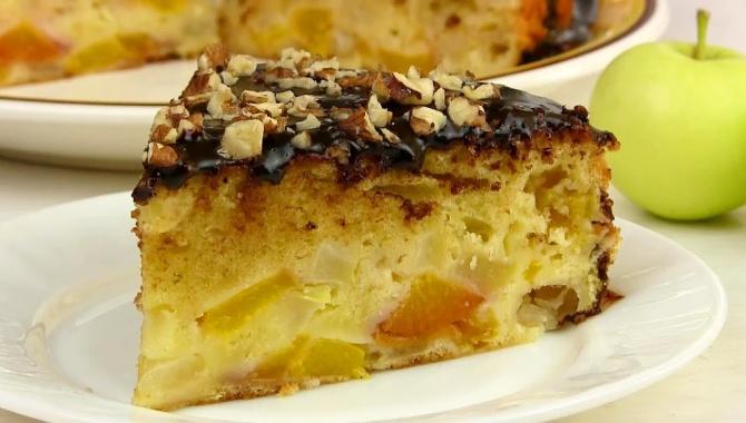 Нежный Яблочный пирог Шарлотка - Видео-рецепт