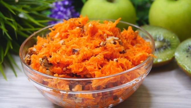 Простой салат из моркови - Видео-рецепт