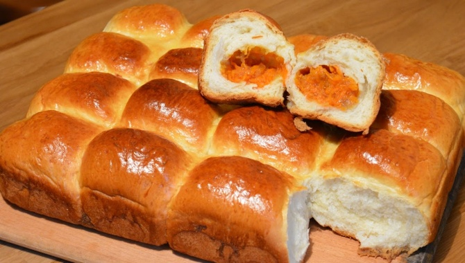 Пирожки с тыквой - Видео-рецепт