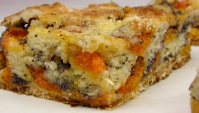 Абрикосовый пирог с маком - Видео-рецепт
