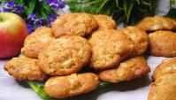 Мягчайшее печенье с яблоками - Видео-рецепт