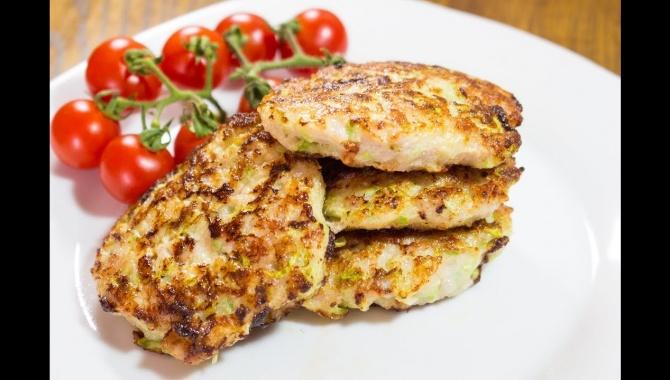 Котлеты из мясного фарша и кабачков - Видео-рецепт