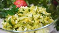 Салат из Кабачка - Видео-рецепт