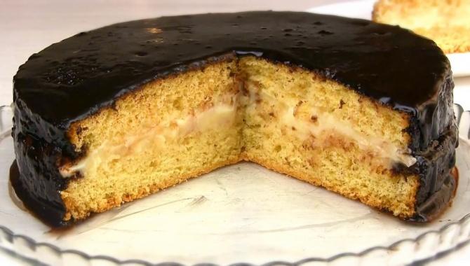 Бисквитный торт Чародейка - Видео-рецепт