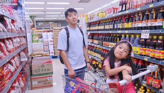 Покупка еды в Корее (Видео)