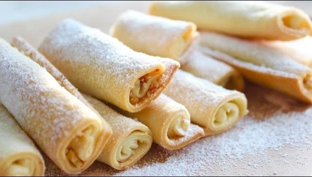 Печенье Бармак или Дамские Пальчики - Видео-рецепт