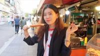Пробуем уличную еду в Корее (Видео)