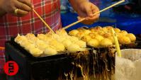 Ночной рынок в Паттайя (Таиланд) - Приготовление Такояки (Видео)
