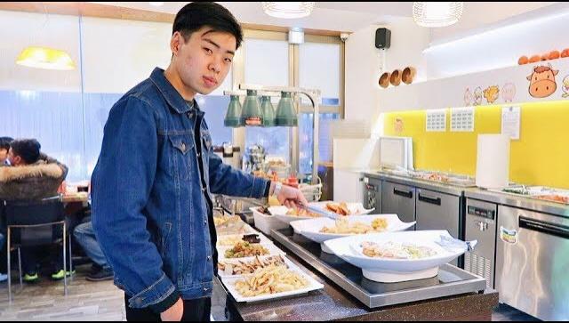 Ешь сколько хочешь на 12$. Шведский стол по-корейски (Видео)