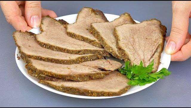 Мясо для домашних бутербродов вместо КОЛБАСЫ - Видео-рецепт