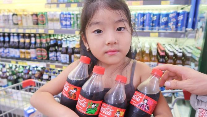 Покупка еды в Корее - Видео