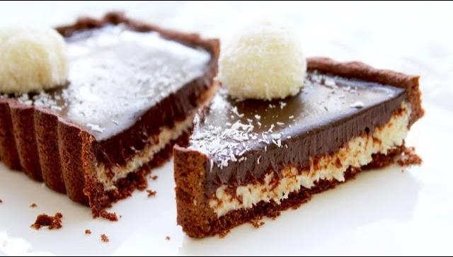 Тарт кокосовый баунти - Видео-рецепт