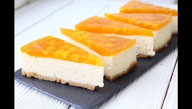 Чизкейк тропический манго - Видео-рецепт