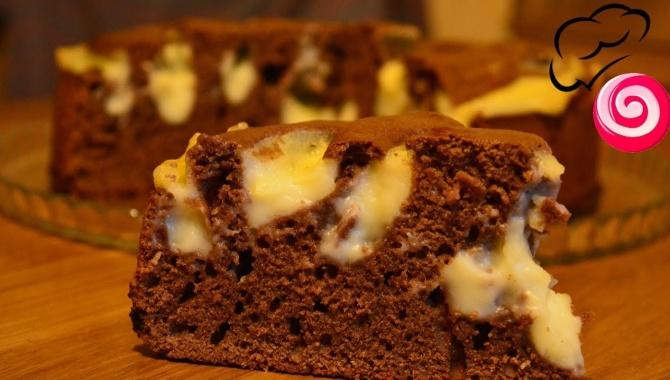 Шоколадный пирог с заварным кремом - Видео-рецепт