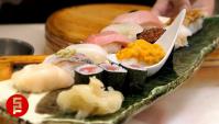 Рынок Цукидзи (Япония) - Суши с морепродуктами (Видео)