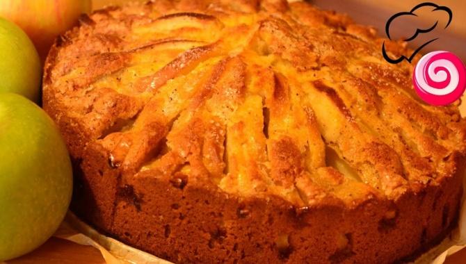 Корнуэльский яблочный пирог - Видео-рецепт