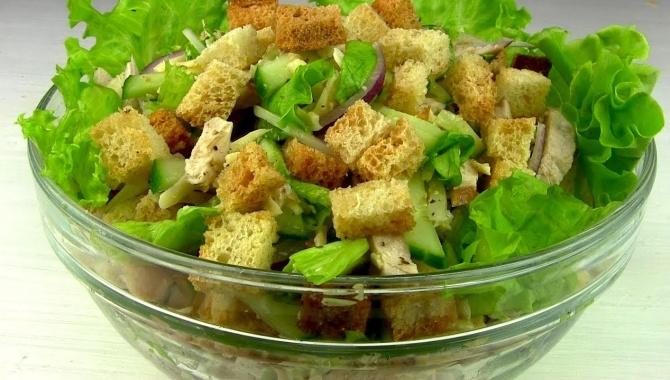 Хрустящий салат на любой праздник - Видео-рецепт