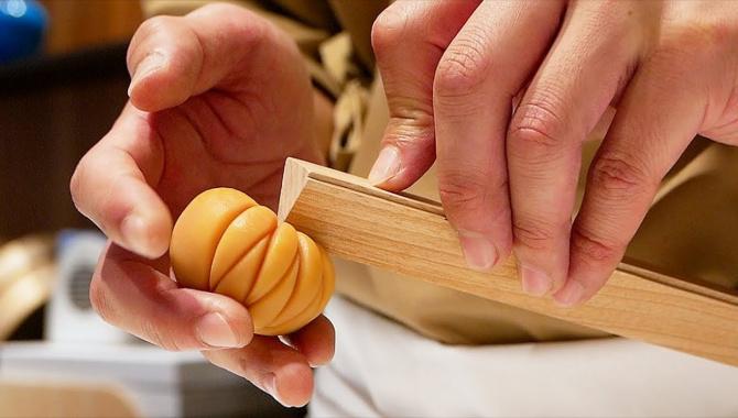 Традиционные японские сладости Вагаси (Видео)