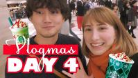 VLOGMAS: Рождественский напиток в Японском Старбакс (Видео)