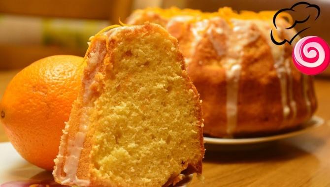Классный апельсиновый кекс -  Видео-рецепт