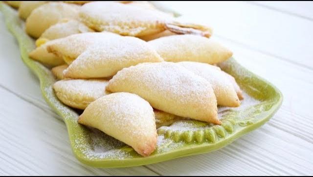 Творожное Печенье с заварным Кремом - Видео-рецепт