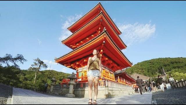 Нас выгнали из храма. Странная еда в Японии| Киото