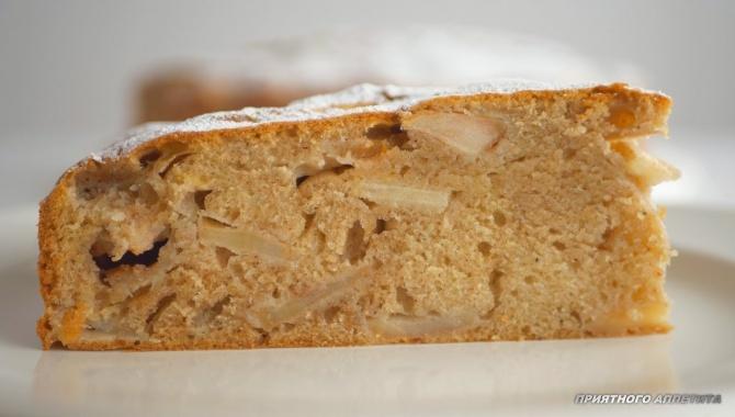 Пирог яблочный Еврейский - Видео-рецепт