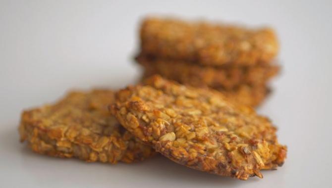 Овсяное печенье без яиц, жира и молочных продуктов - Видео-рецепт