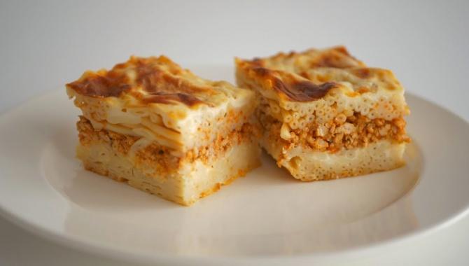 Вкусный обед или ужин из макарон и мясного фарша - Видео-рецепт
