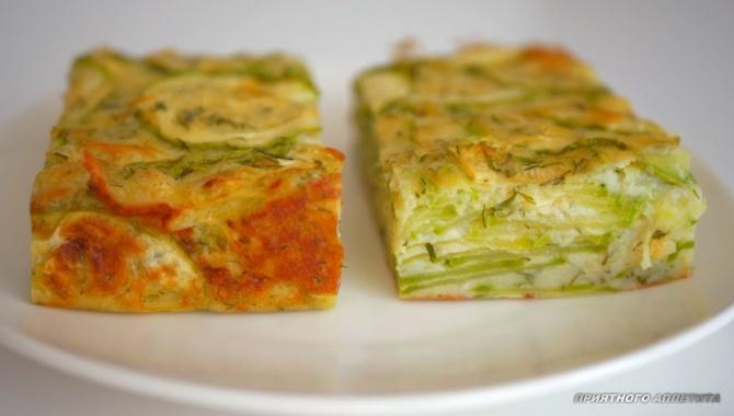 Кабачковый пирог - Видео-рецепт