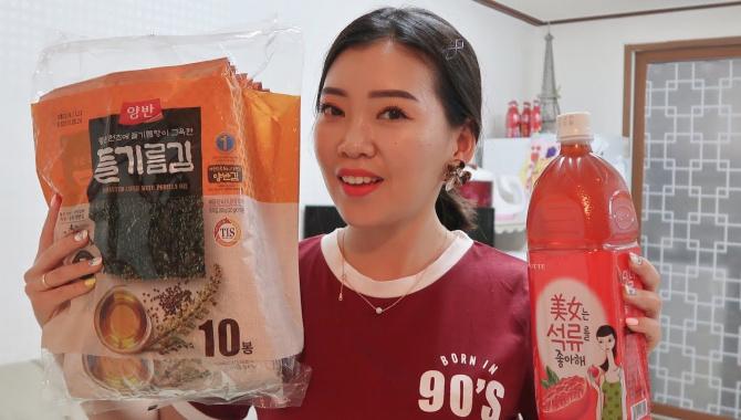 Покупки еды в Корее. Сколько стоят продукты в Корее? (Видео)