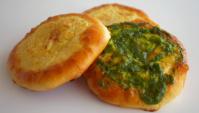 Шаньги/ватрушки с картофельным и гороховым пюре - Видео-рецепт