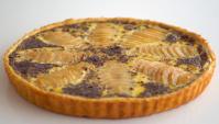 Пирог с грушами и шоколадом - Видео-рецепт