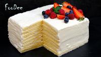 Торт со вкусом МОРОЖЕНОГО за 30 минут - Видео-рецепт